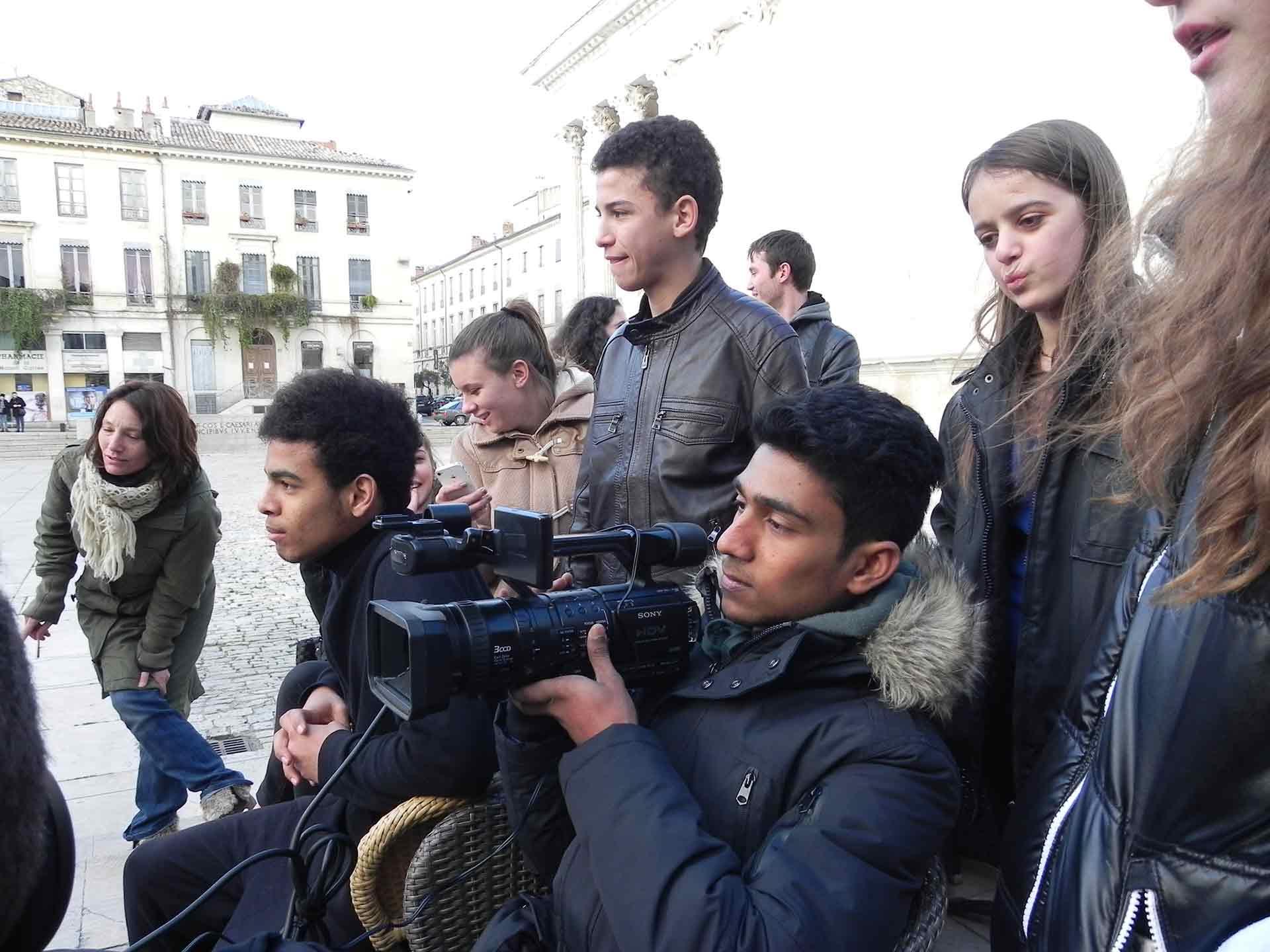 Camera Shoot à Nîmes