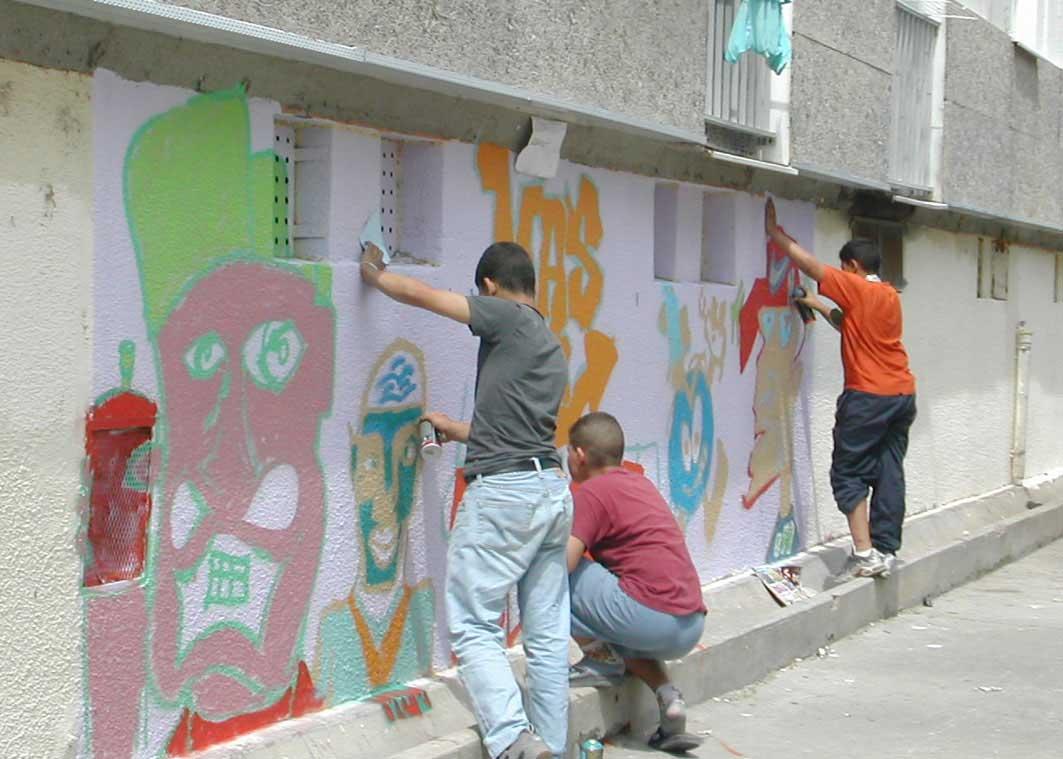 graffeur, tageur, art de rue